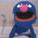 Grover Old Spice smell like a monster on Sesame Street