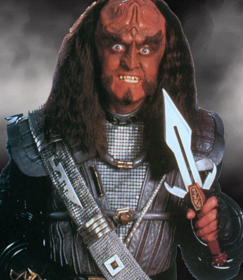 the hobbit klingon dwarf thorin oakenshield or gowron