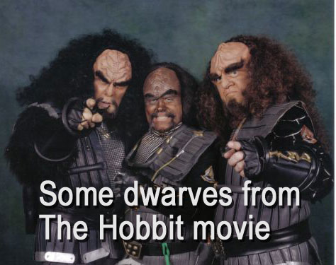 more klingon dwarves from The Hobbit