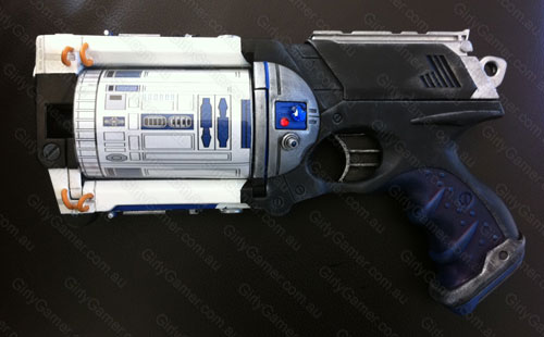 Nerf Maverick mod Star Wars R2D2
