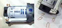 R2D2 Legs wires Nerf Maverick mod