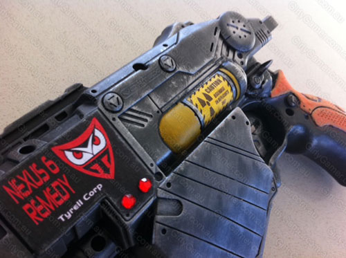 Nerf Proton Vortex range paintjob mod Blade Runner blaster homage