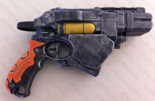 Nerf mod Blade Runner homage Nerf Vortex Proton paintjob mod