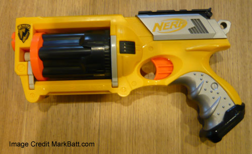 nerf maverick unmodded unpainted