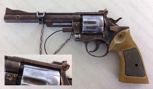 ... steampunk revolver mod toy gun to steampunk gun