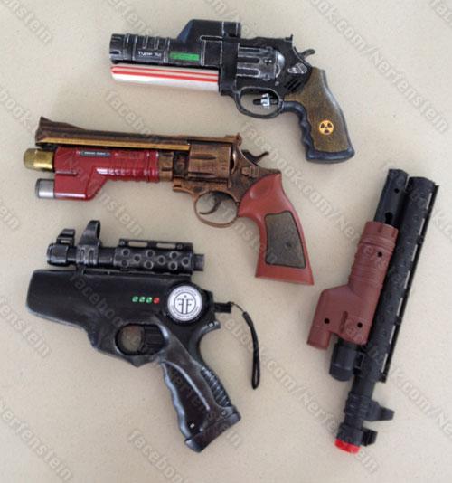 Nerf blaster mod recycling – Cthulhu, Fringe and more ...  Nerf blaster mo...