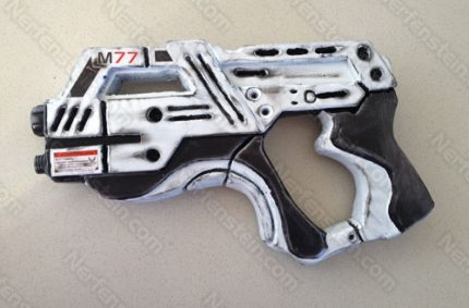 Mass Effect Carnifex turned Paladin pistol foam build
