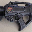 Nerf Rayven Bug Stomper blaster weapon Aliens homage