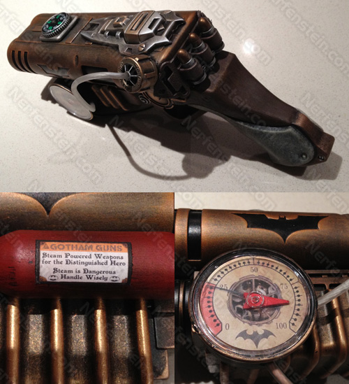 batman steampunk style the batman steampunk blaster weapon steampunk gun