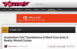Nerf Rayven Nerfender mod - Kotaku coverage 2013
