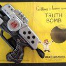 The Middleman blaster pistol prop for Wendy Watson