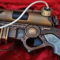 Steampunk Batman pistol from Wayne Industries