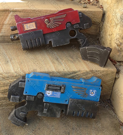 Warhammer 40K Bolter pistol foam build foamidable