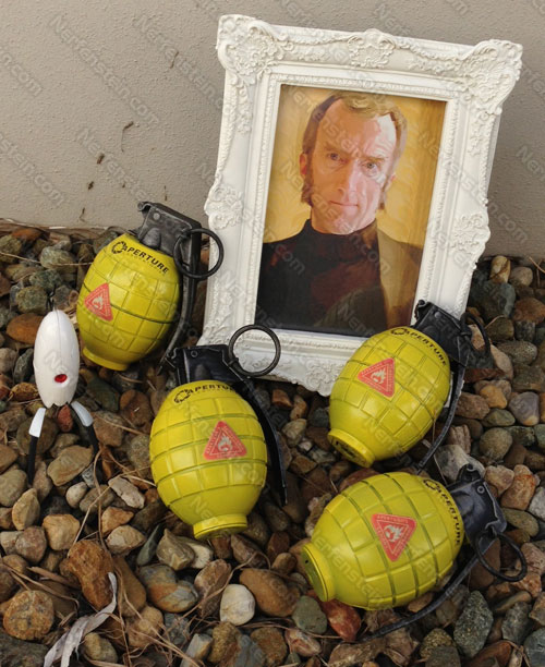 Cave Johnson Combustible Lemon display props