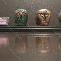 The Skulls of Touganda from The Phantom – Mini props