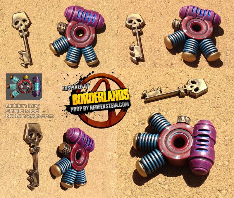 borderlands how to get golden keys