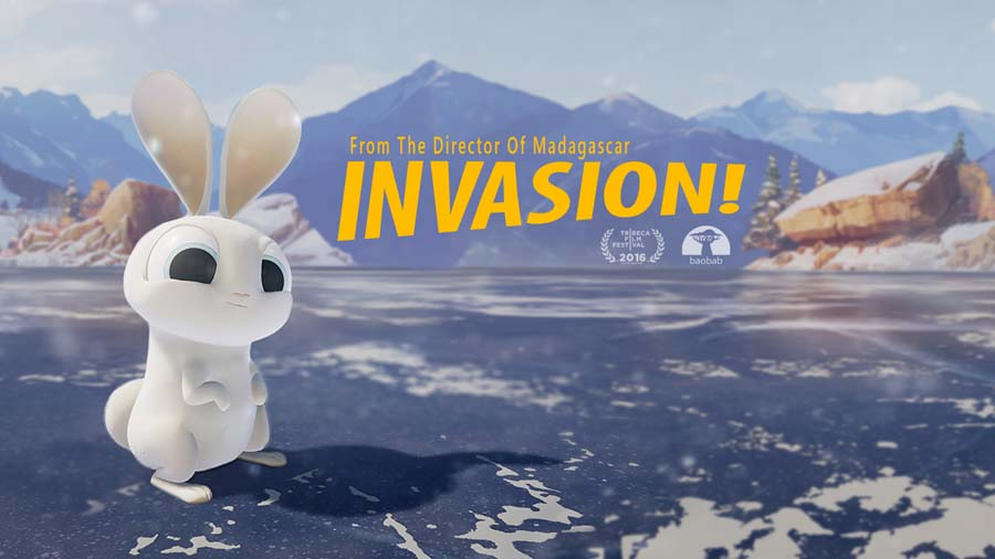 Invasion! from Baobab Studios on PSVR a virtual reality experience - thoughts by girlygamer nerfenstein