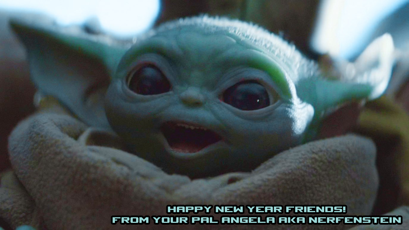 Baby Yoda The Child The Mandalorian - New Year Review