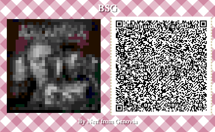 Battlestar Galactica Board Game QR Code for Animal Crossing New Horizons