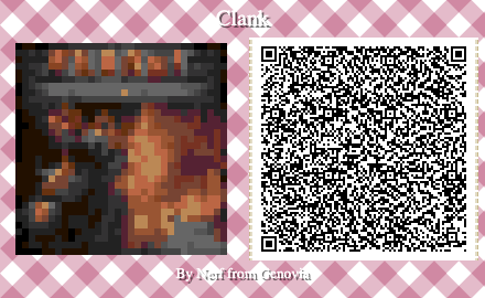 Clank Board Game QR Code for Animal Crossing New Horizons