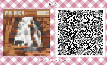 Parks Board Game QR Code for Animal Crossing New Horizons