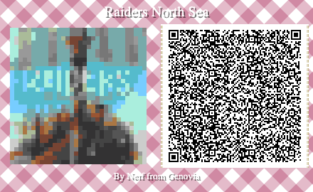 Raiders of the North Sea Board Game QR Code for Animal Crossing New Horizons