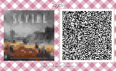 Scythe Board Game QR Code for Animal Crossing New Horizons