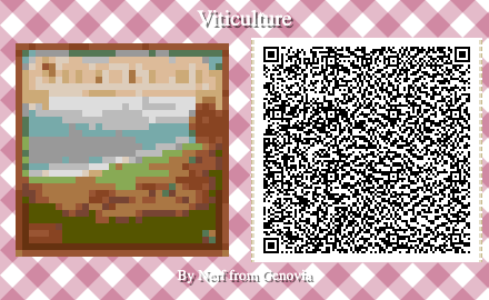 Viticulture Board Game QR Code for Animal Crossing New Horizons