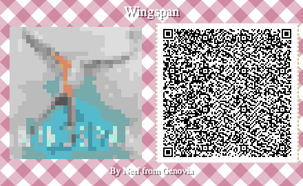 Wingspan Board Game QR Code for Animal Crossing New Horizons