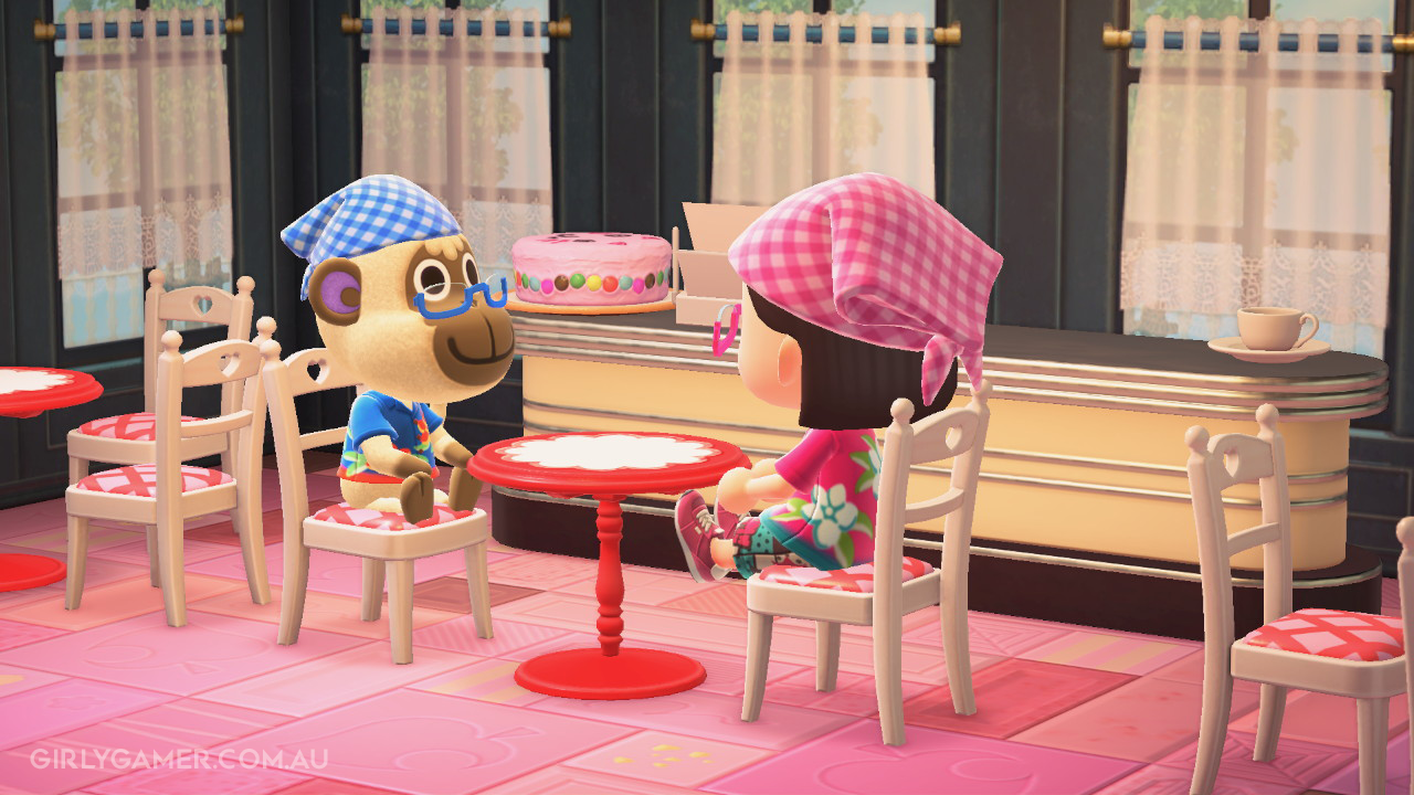 animal crossing new horizons coffee catch up deli game screenshot nerfenstein