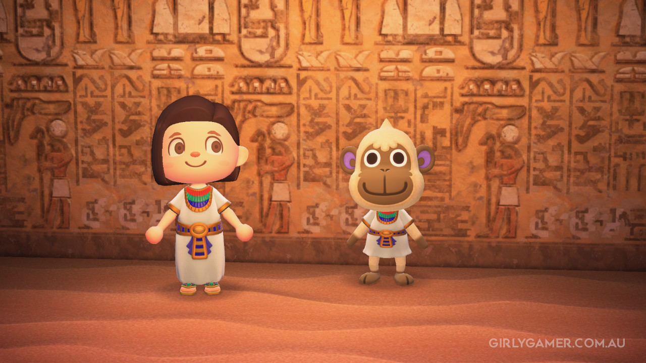 animal crossing new horizons deli in Egypt game screenshot nerfenstein