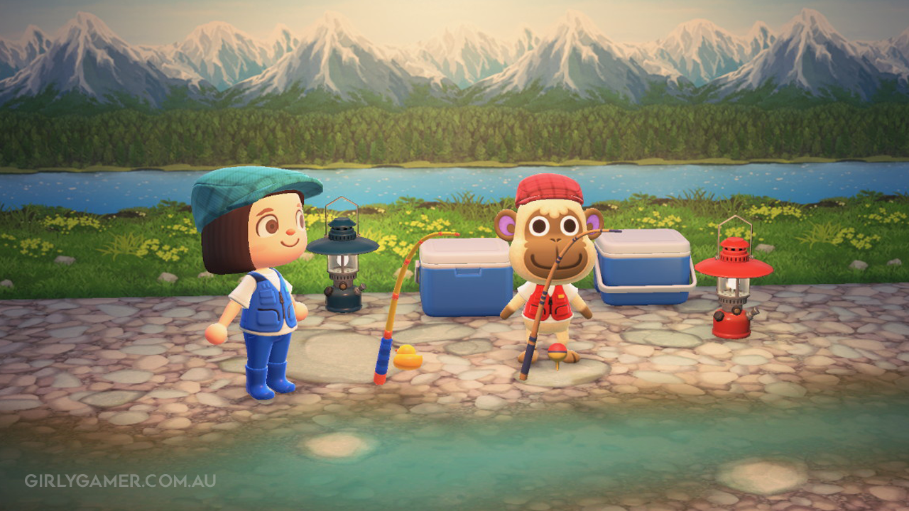 animal crossing new horizons deli fishing game screenshot nerfenstein