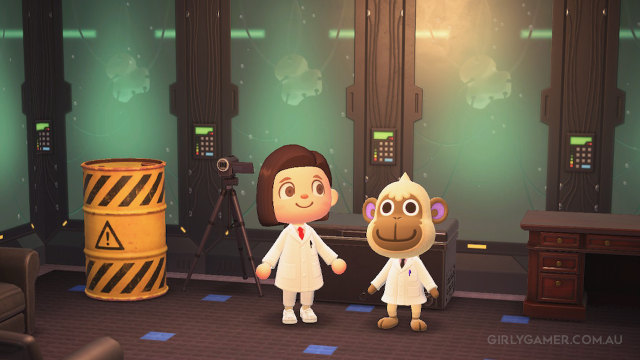 animal crossing new horizons deli in the lab game screenshot nerfenstein