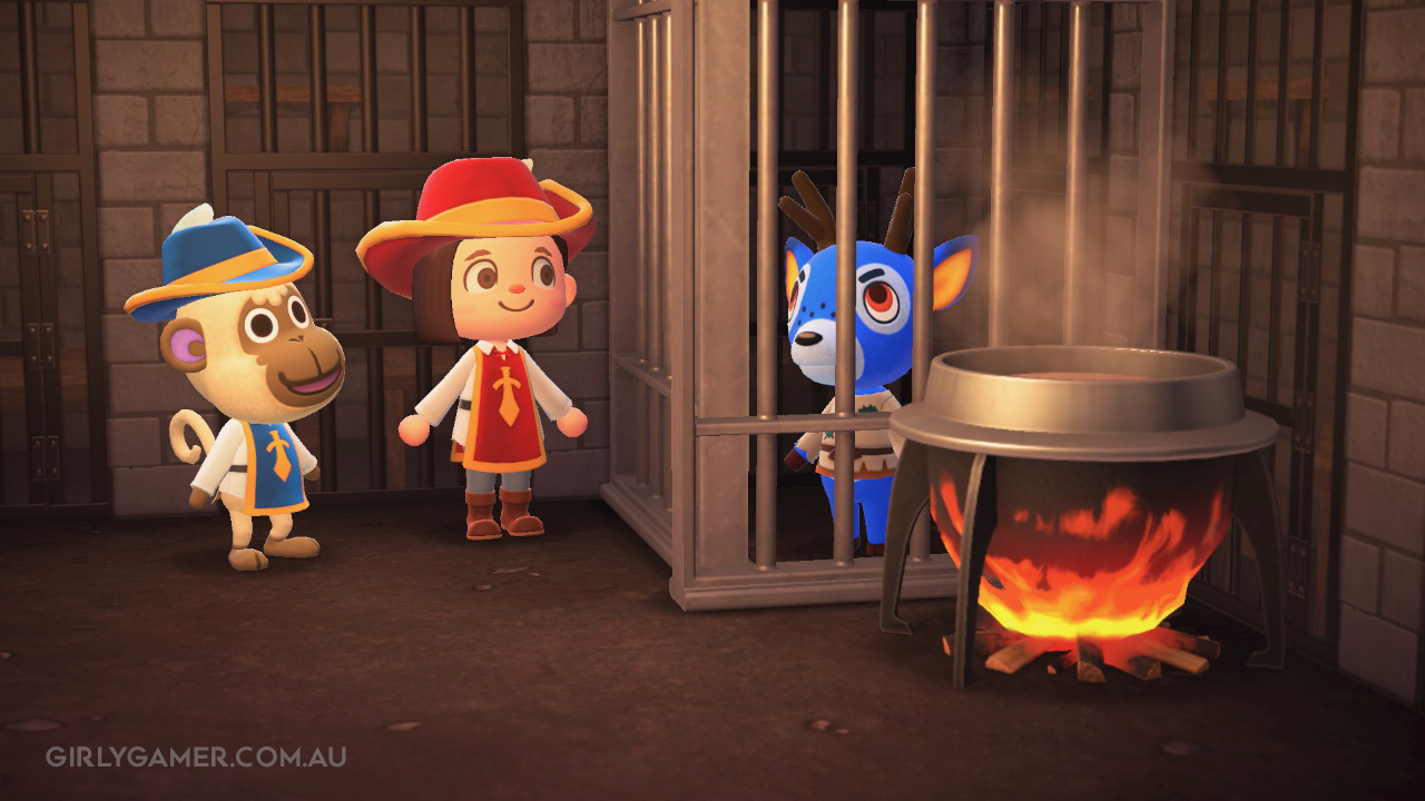 animal crossing new horizons musketeer deli game screenshot nerfenstein