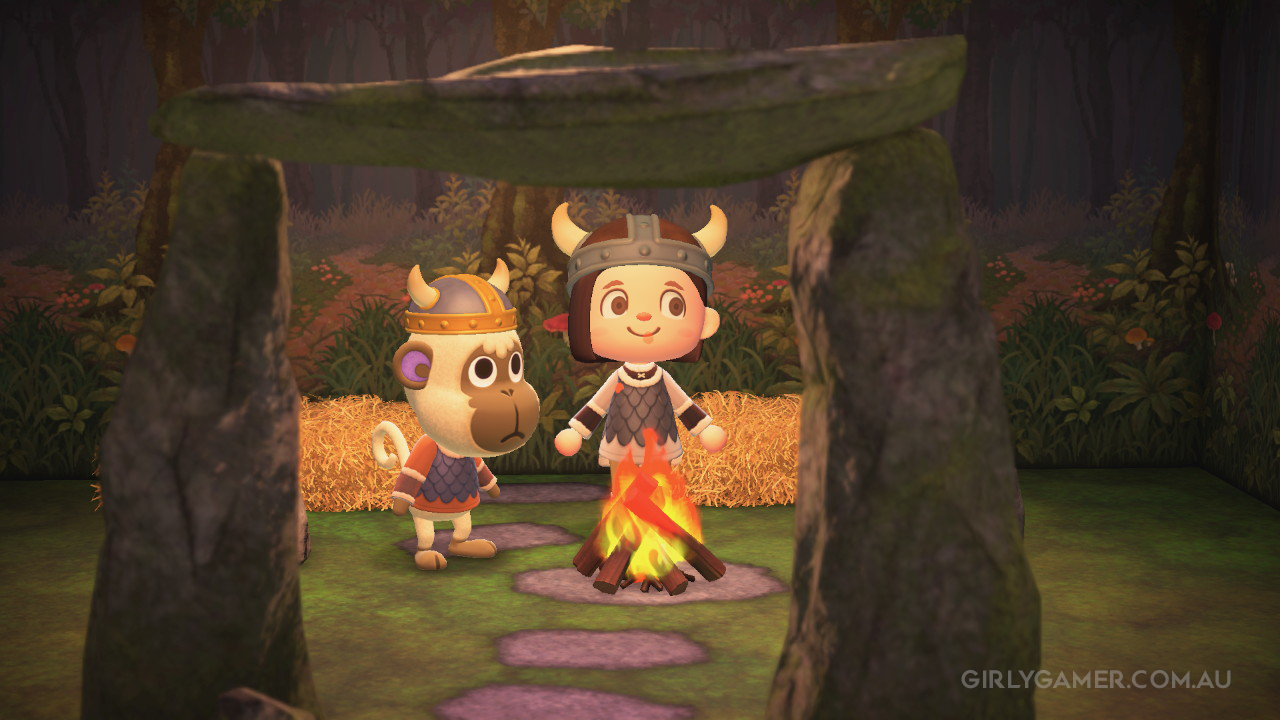 animal crossing new horizons viking deli game screenshot nerfenstein