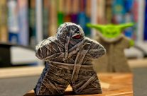 The Mummy Meeple – Board Game Gran Art