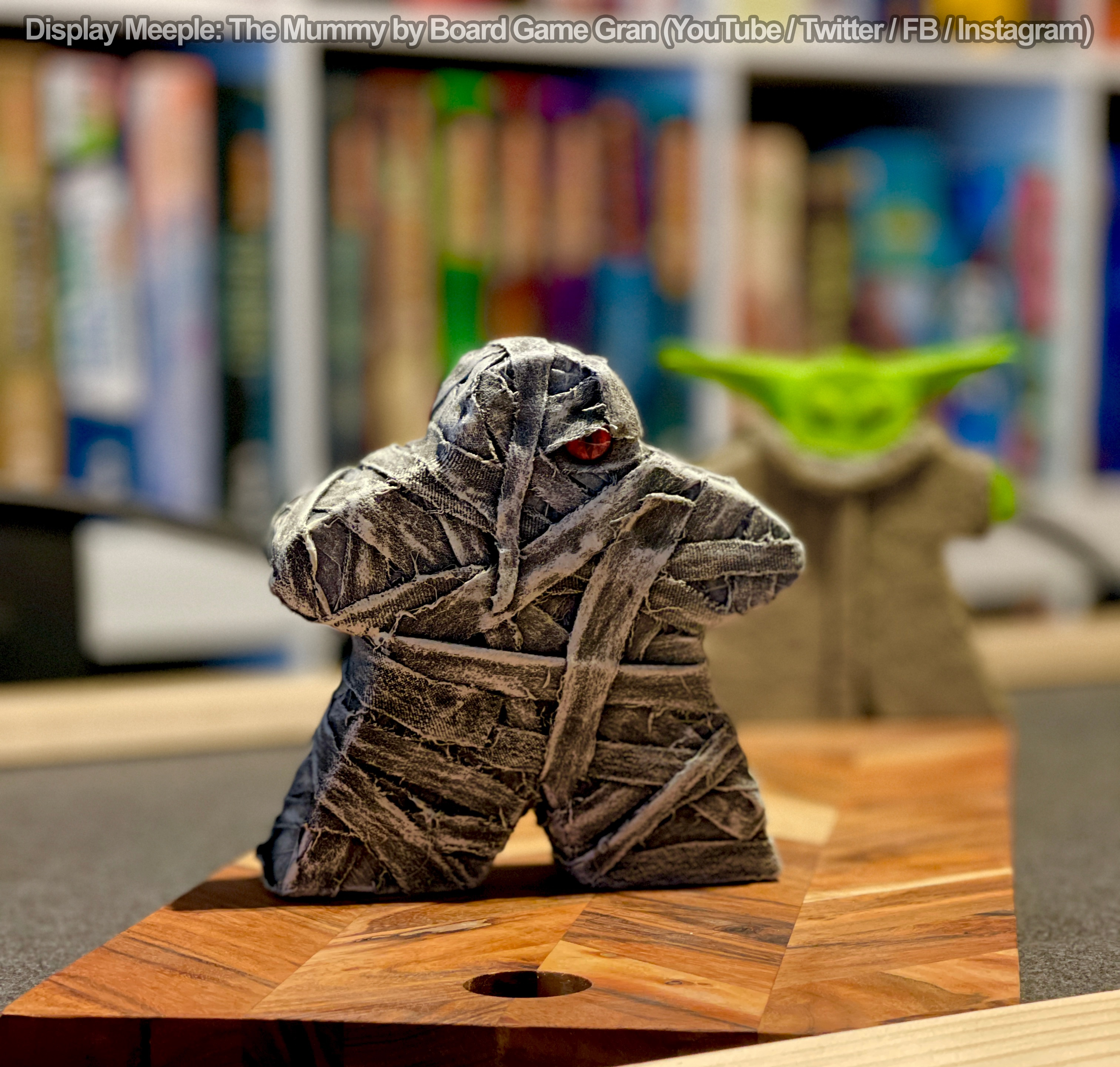 the mummy meeple by board game gran
