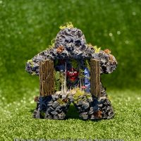 Stone golem shrine meeple – Board Game Gran Art