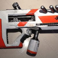 Image is loading NERF-Dart-Tag-Magstrike-Black-Red-Gun-With-