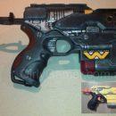 Nerf mod Element EX-6 pistol painted Weyland Yutani style