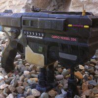 Nerf Vortex Vigilon mod deep space mining cargo vessel