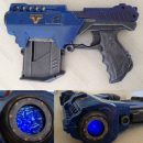 Stargate Atlantis blaster pistol Lanard mod with light up portal
